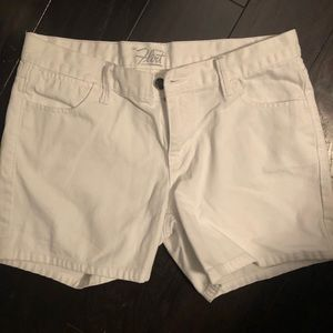 Old Navy White Jean Shorts